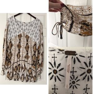 Free people blouse, size large.